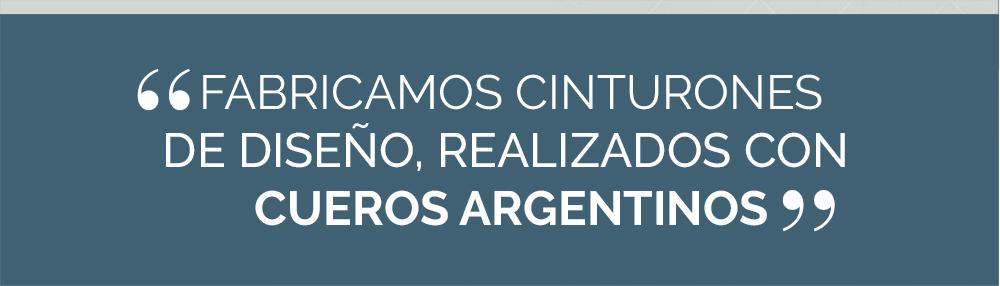 85b61bcd9234 ENNA Complementos - Fábrica de cinturones en cuero argentino. Cintos ...